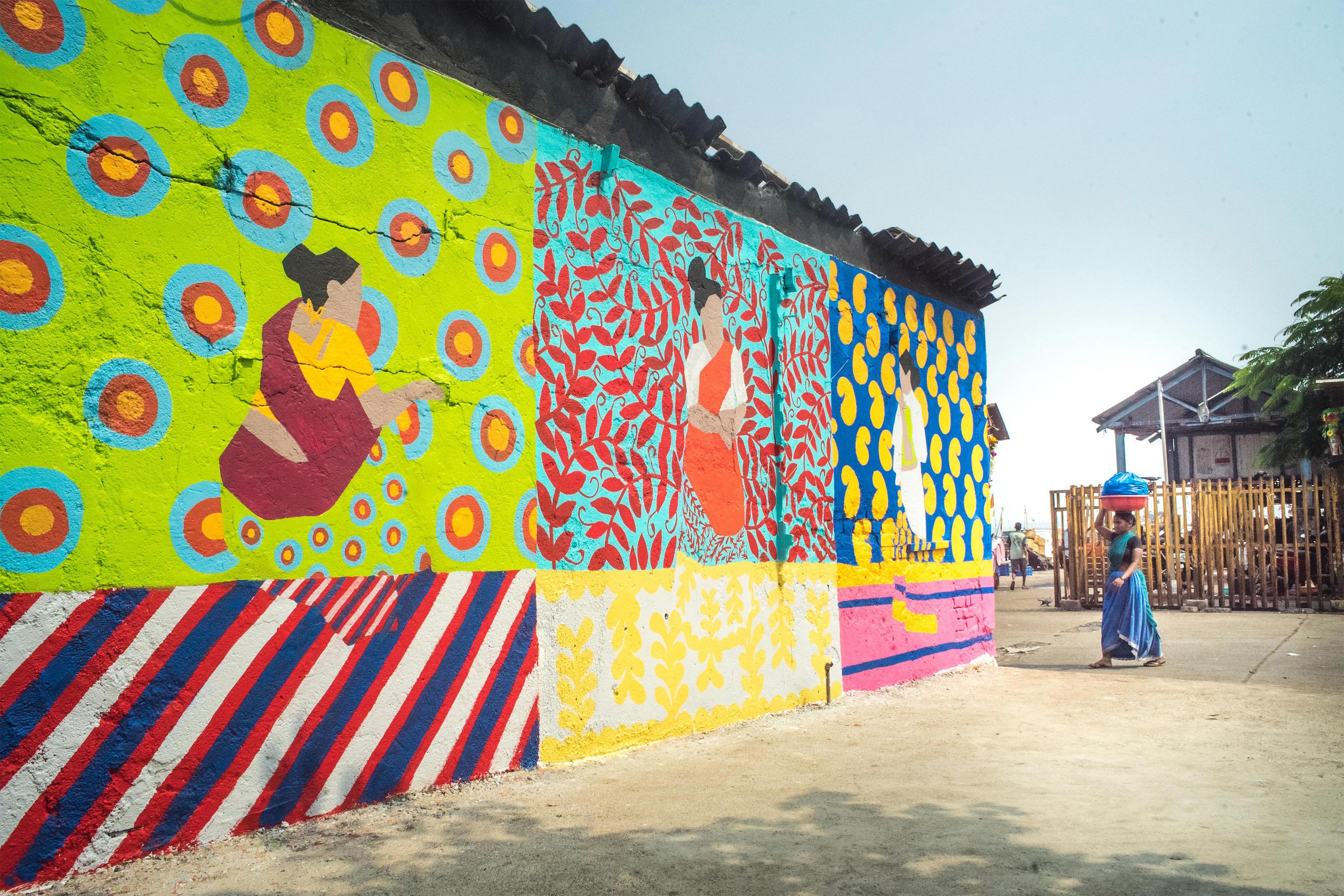 Poornima Sadhna Sassoon Dock Art Fest Start Mumbai 2017 3