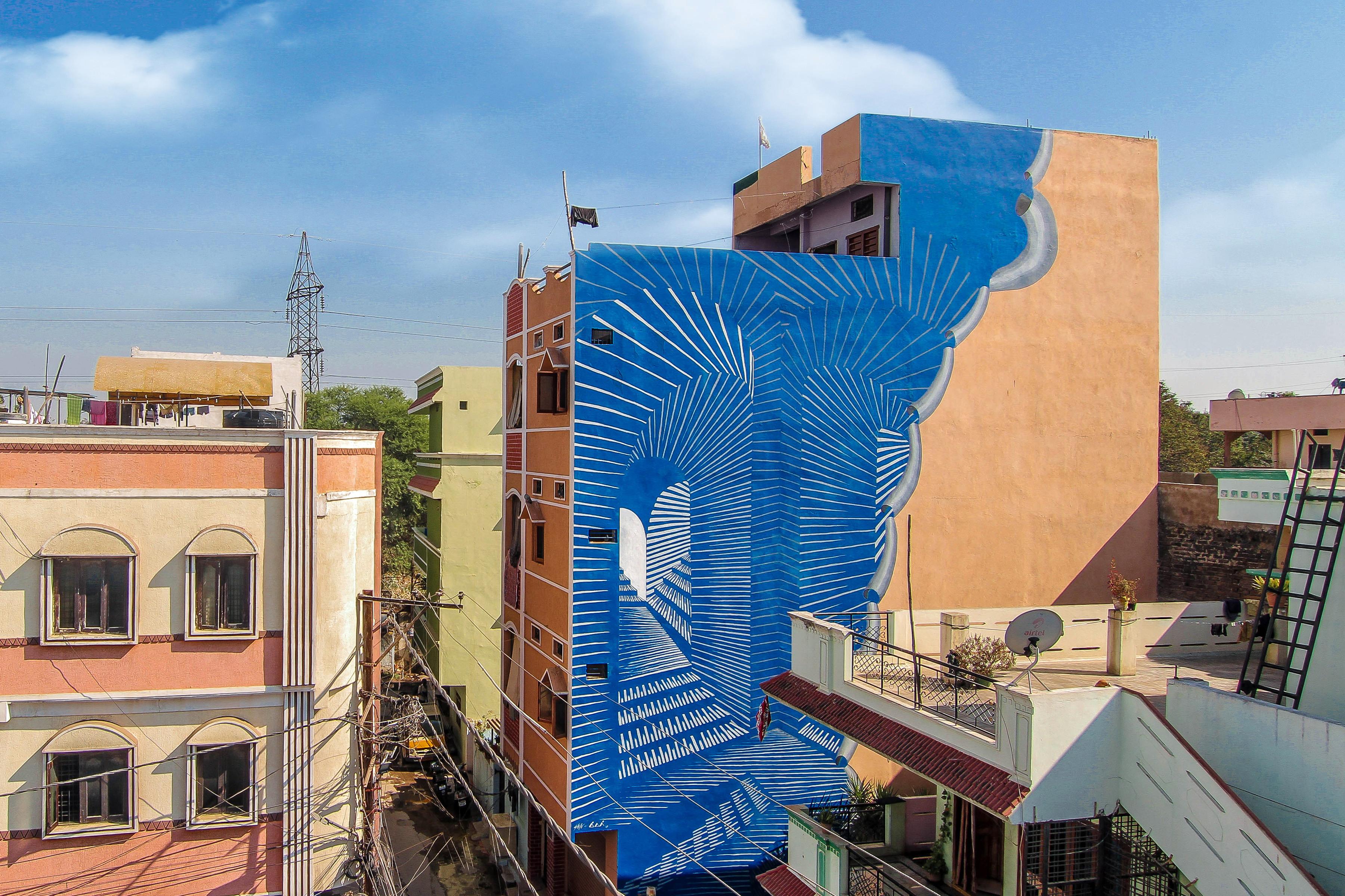 Shiva Rangaa Blue Chowk Maqta Art District 2018 Reveals Pranav Gohil 6
