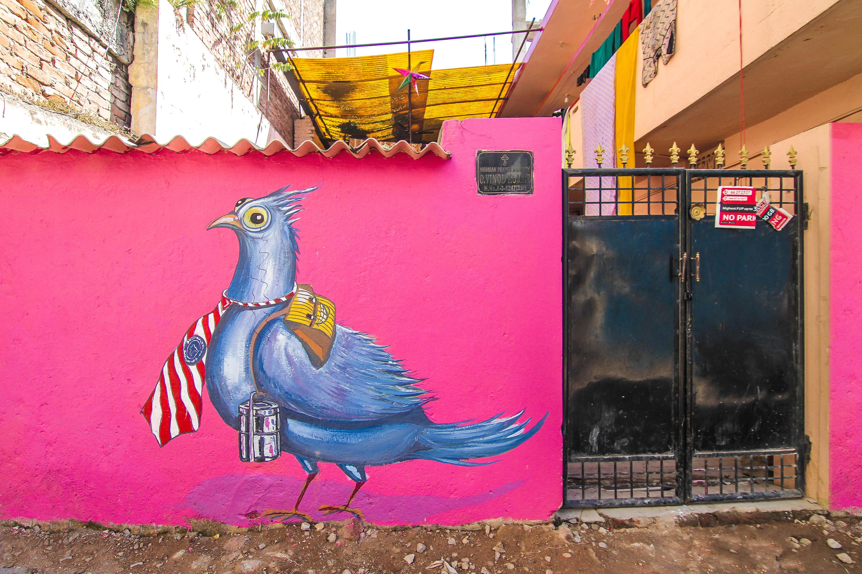 Shiva Rangaa Pink Lane Maqta Art District 2018 Reveals Pranav Gohil