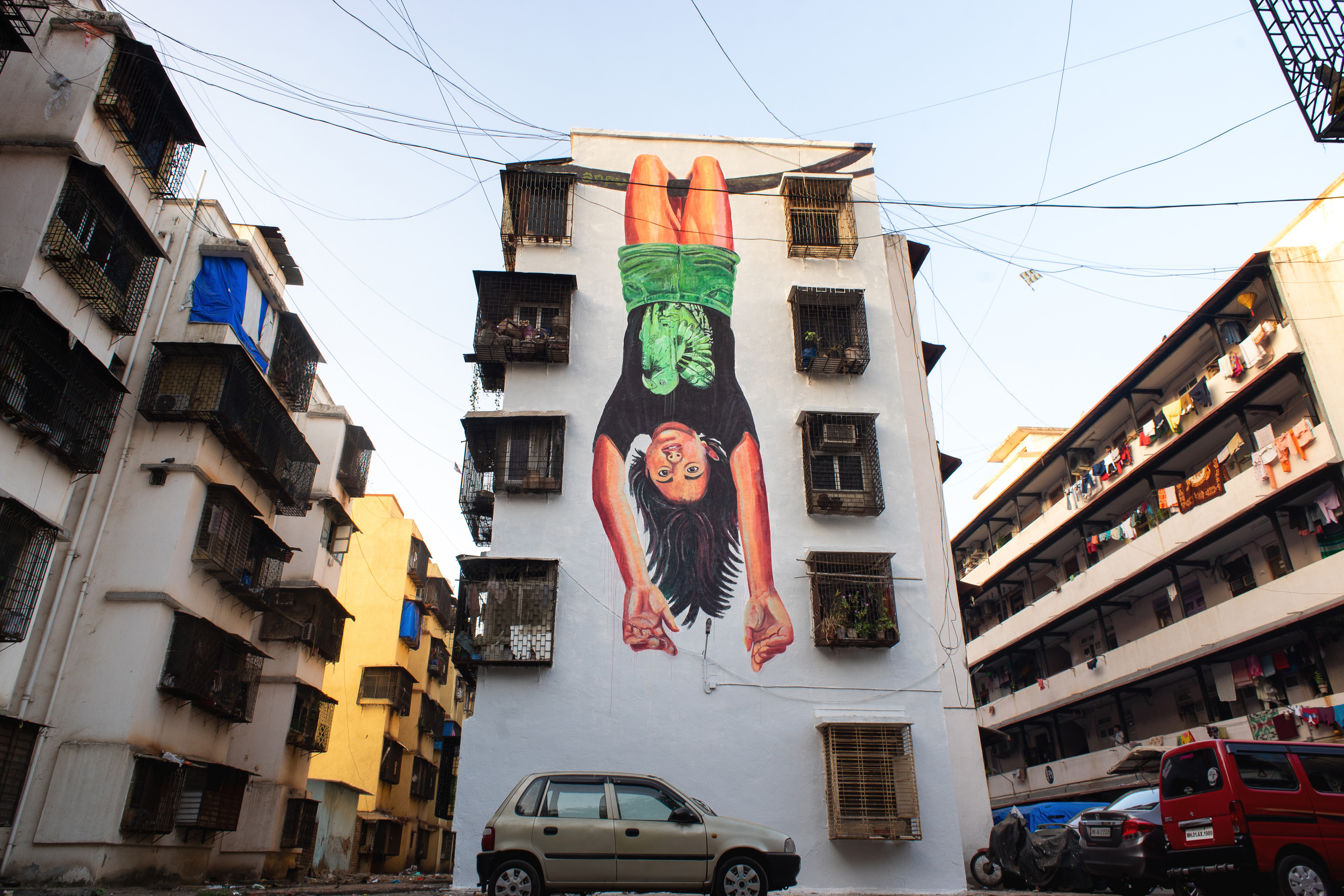 Anpu Reveals Mahim E Art Dist St Art Mumbai 2018 2