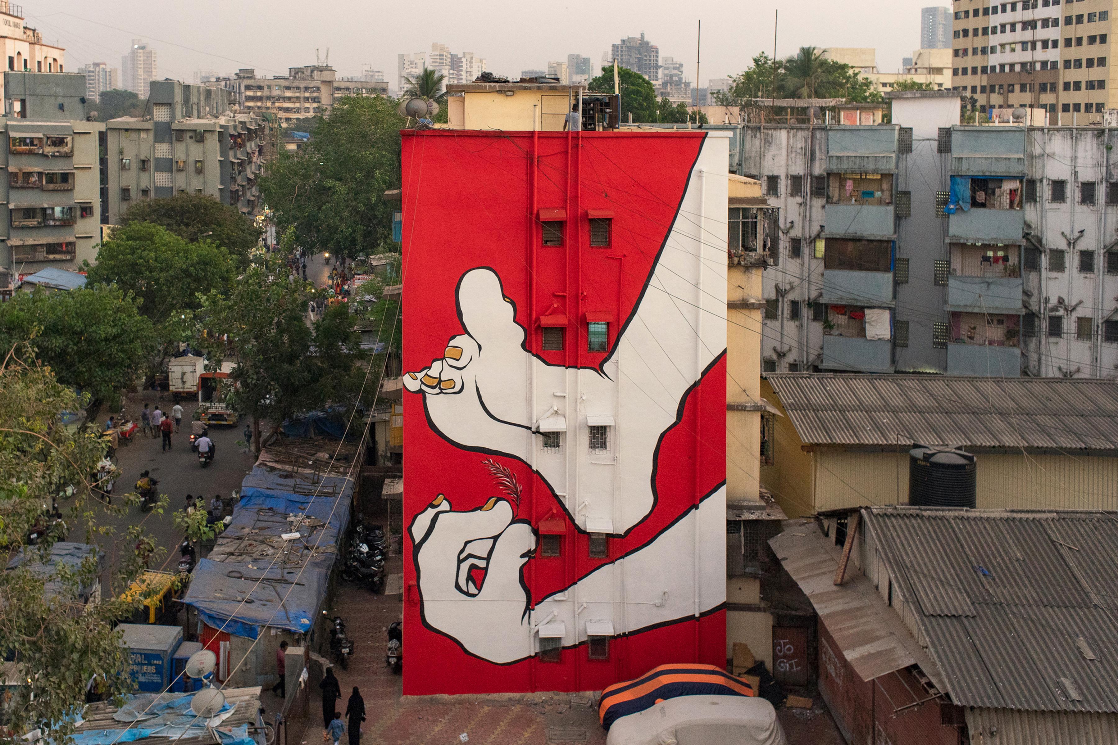 Ella Pitr Reveals Mahim E Art Dist St Art Mumbai 2018 1