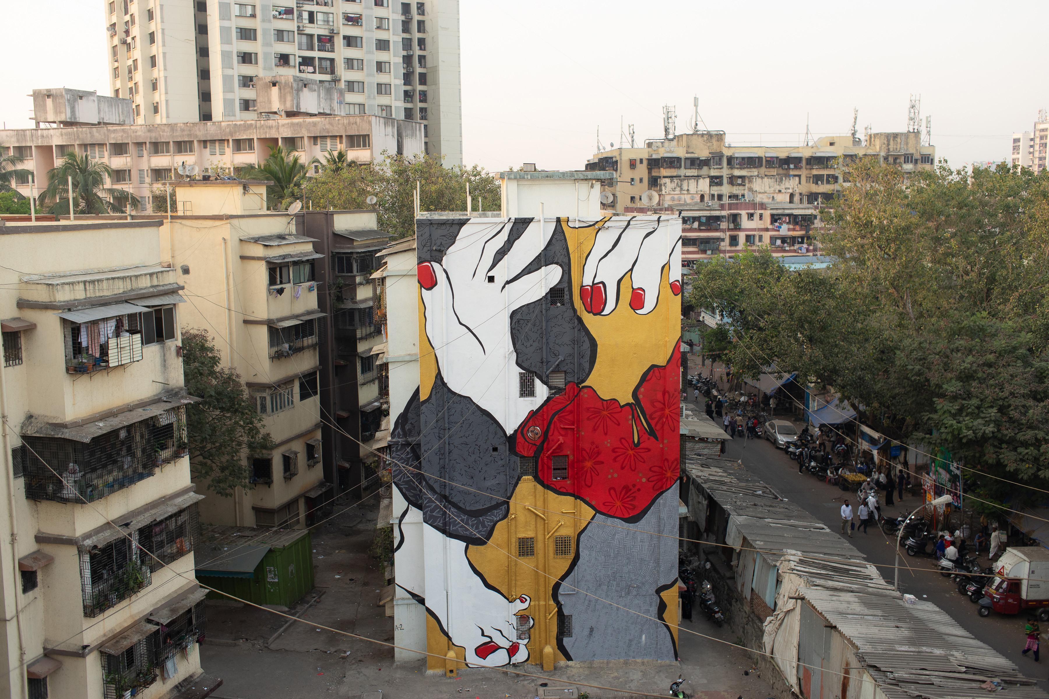Ella Pitr Reveals Mahim E Art Dist St Art Mumbai 2018 2