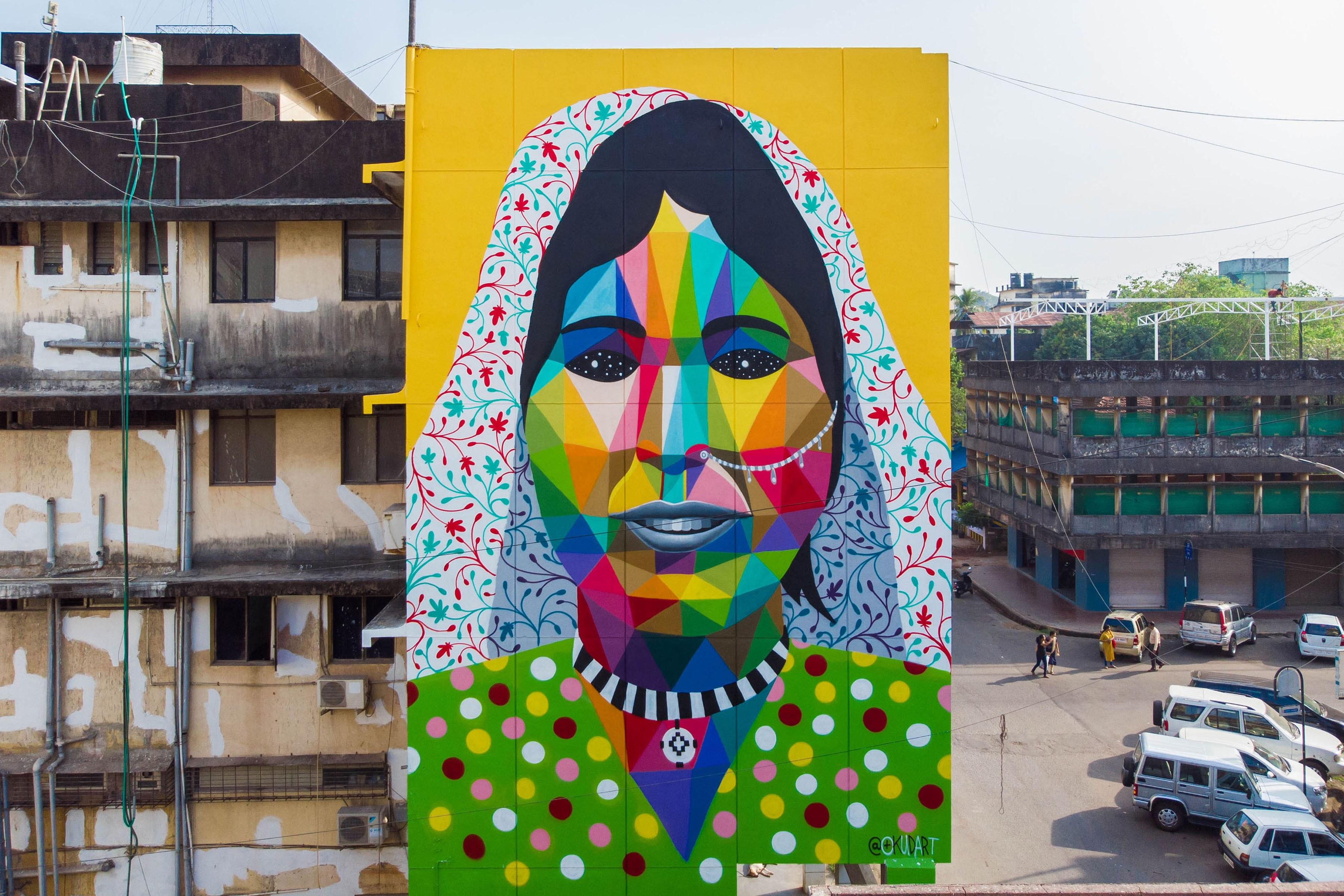 Okuda Reveals St Art Goa 2018 Pranav Gohil 23