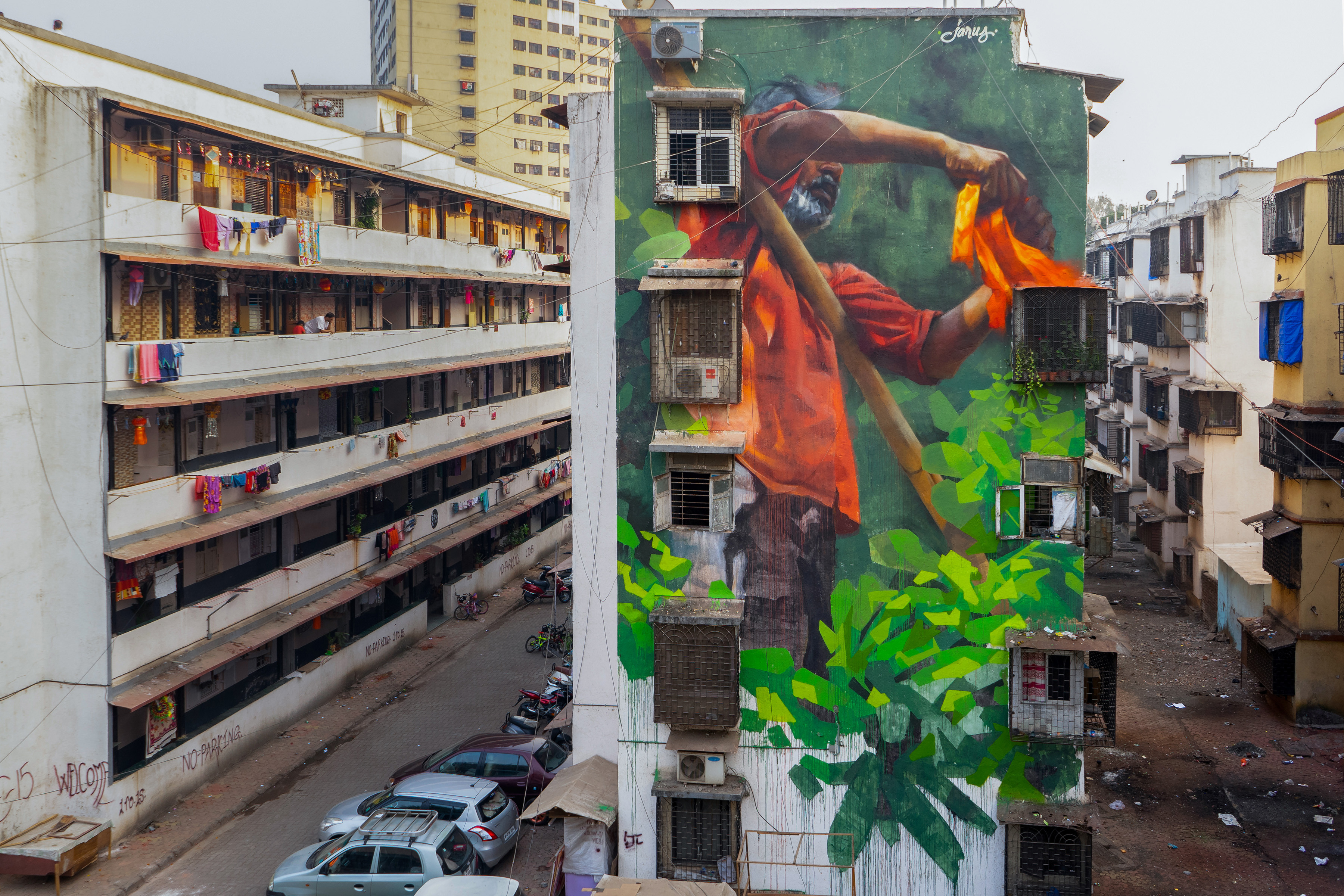 Young Jarus Reveals Mahim E Art Dist St Art Mumbai 2018 2