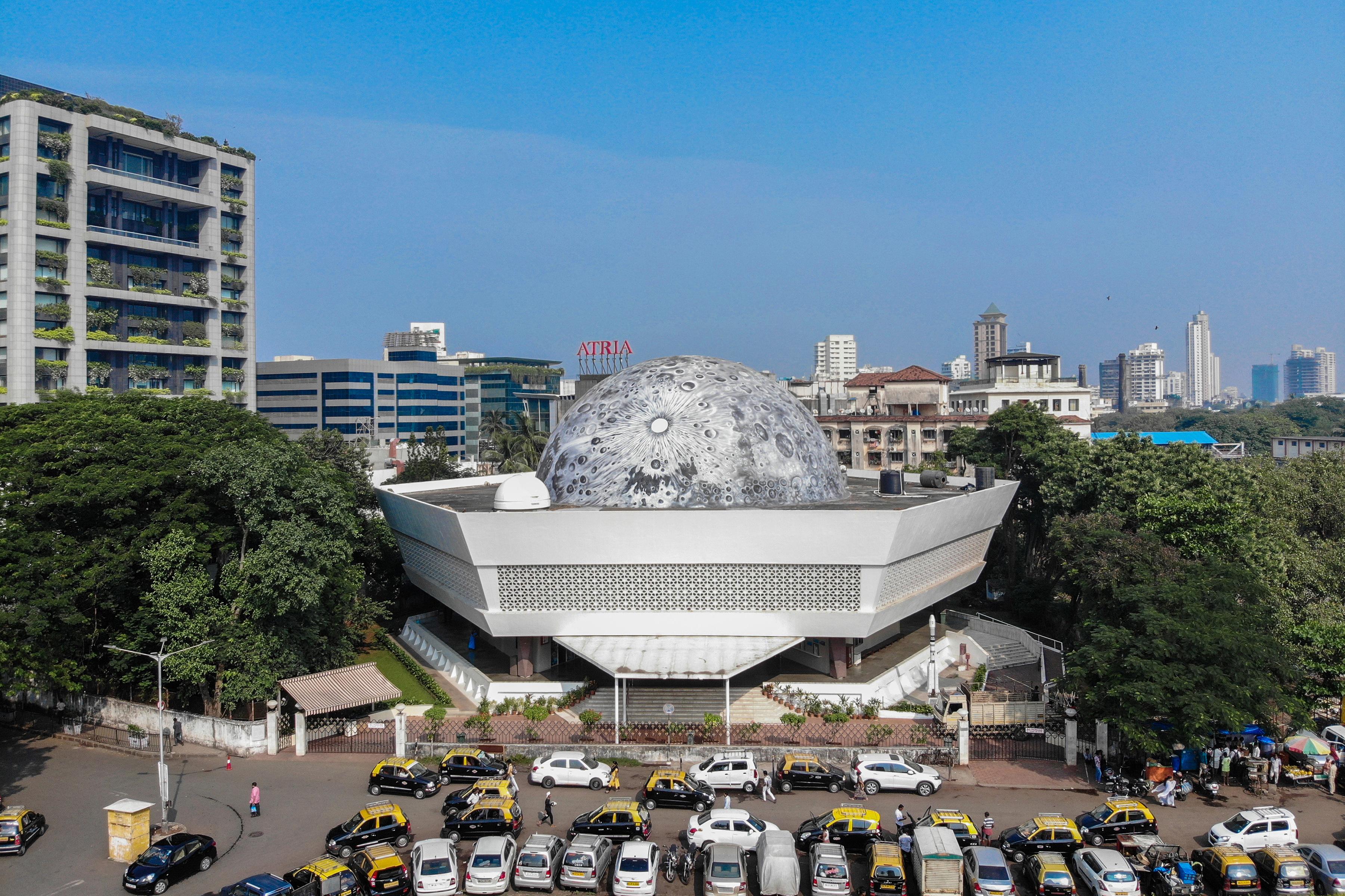 Lunar Dome at the Nehru Planetarium