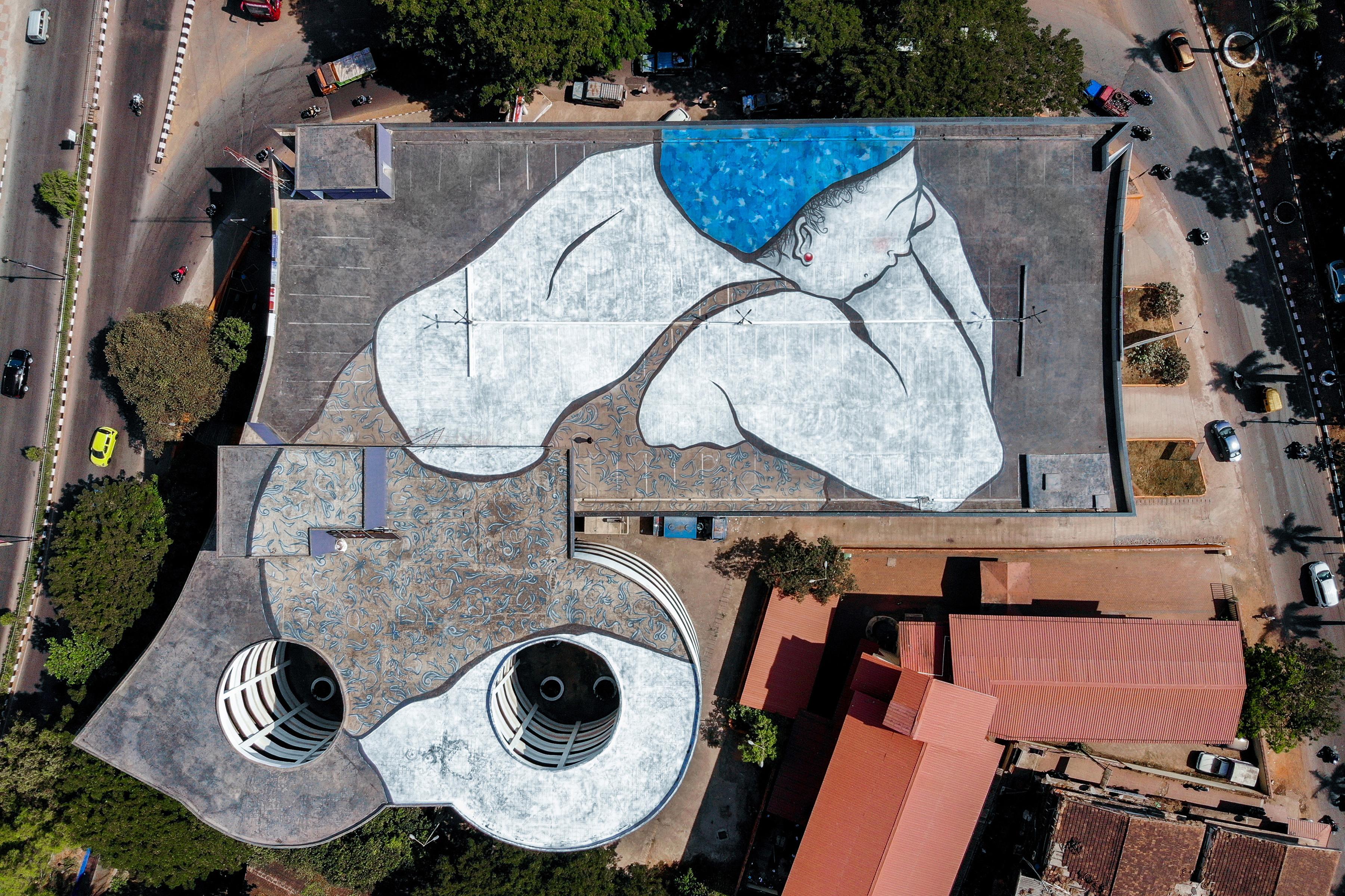 Ella Pitr Mural 1 Reveals St Art Goa 2019 Pranav Jay 4