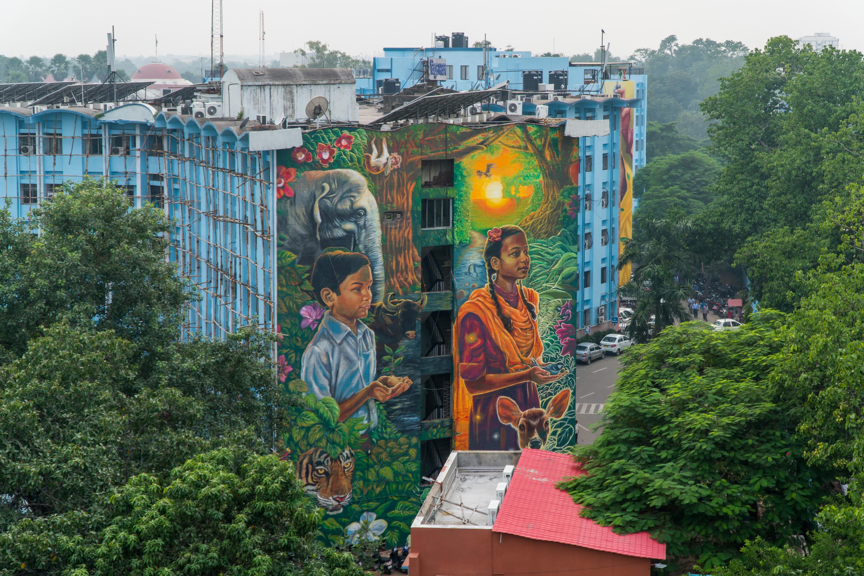 Alaniz Reveals St Art Patna 2019 Rohan 2