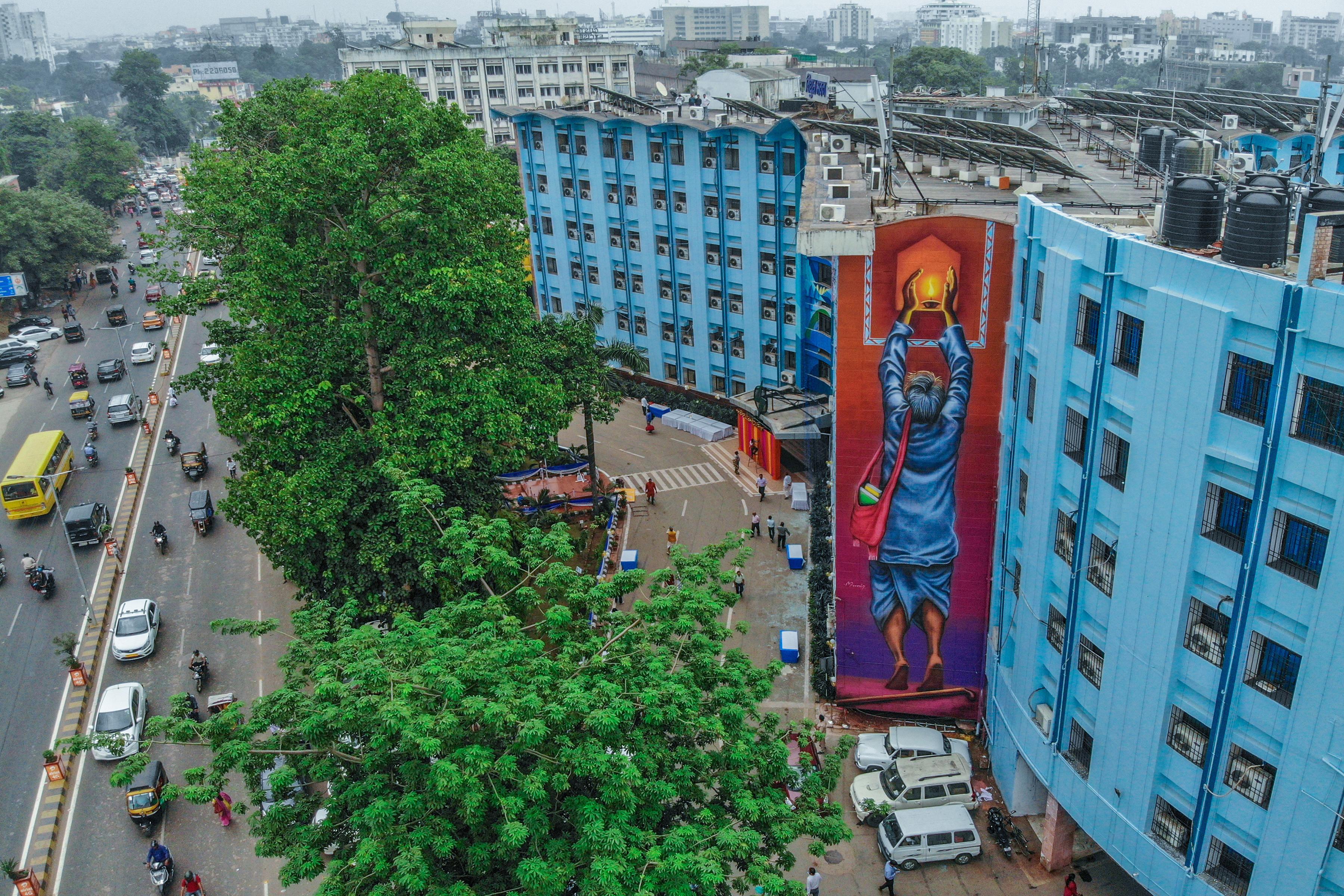 Munir Reveals Wall 3 St Art Patna 2019 Pranav Jay 14