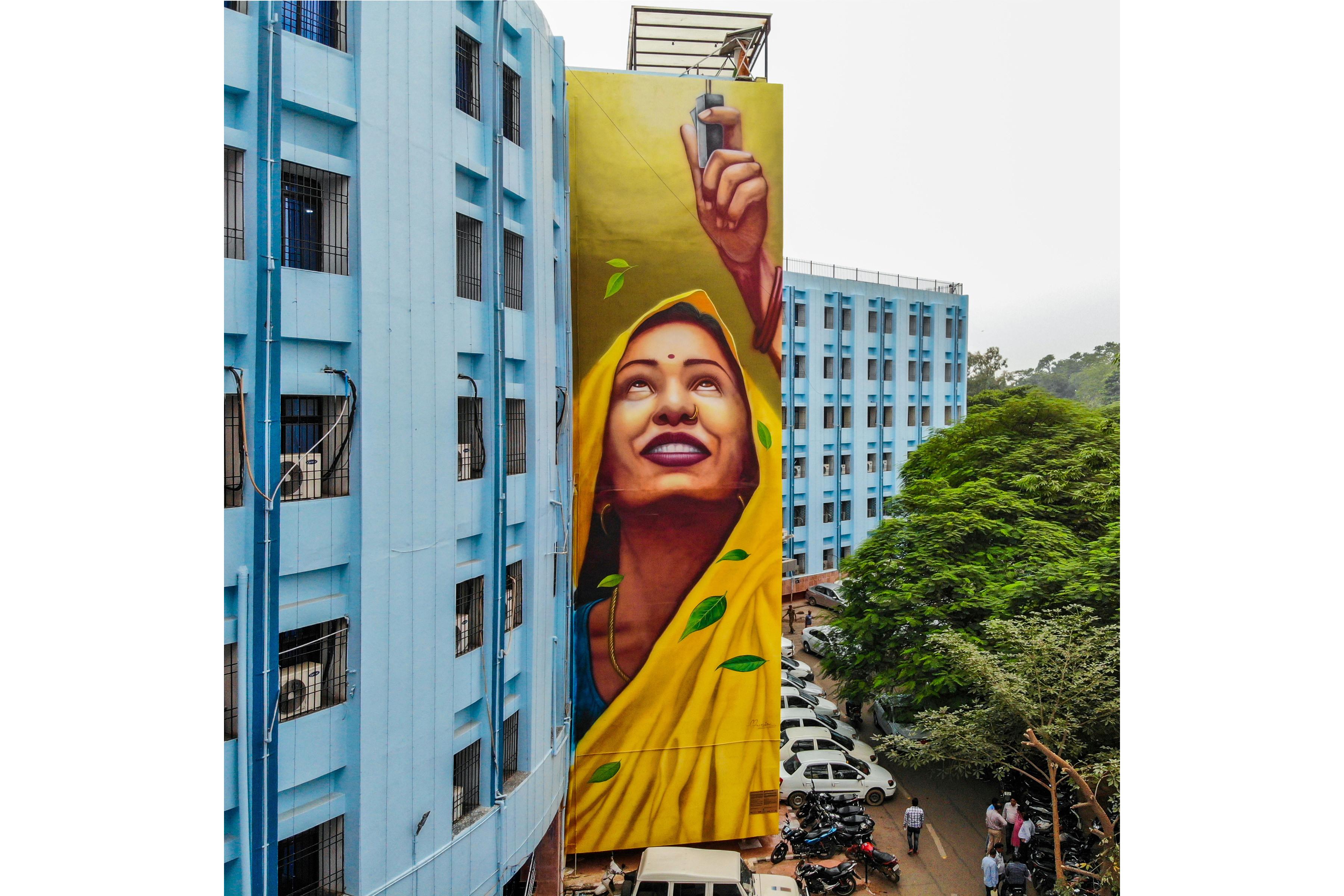 Munir Reveals Wall 4 St Art Patna 2019 Pranav Jay 1