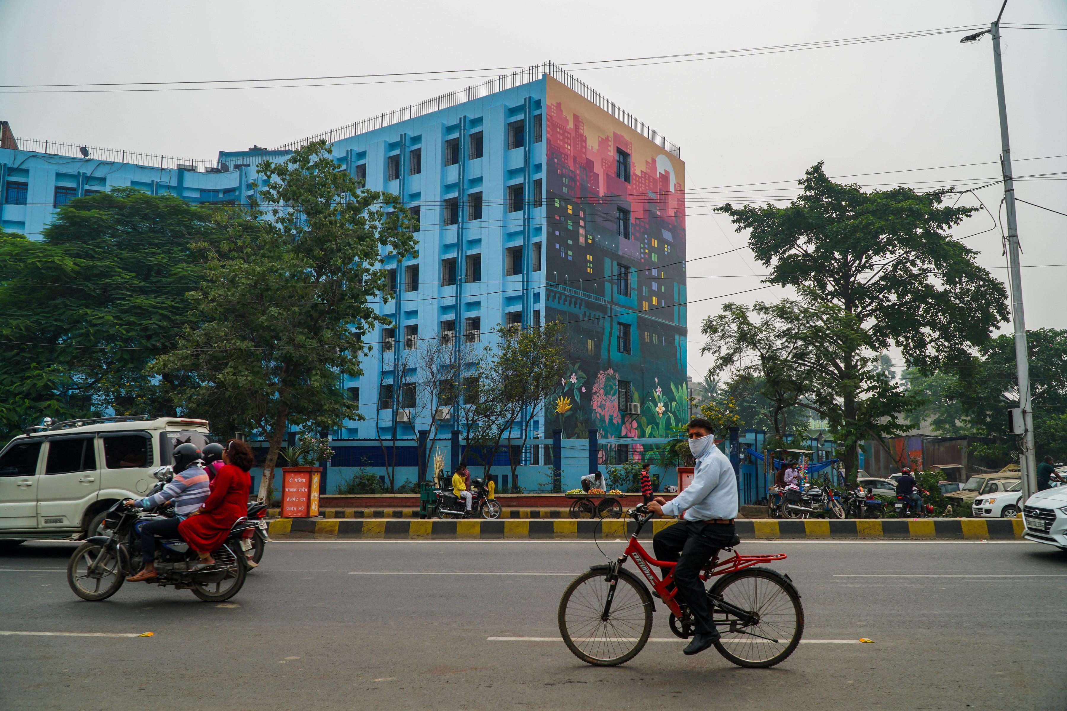 Munir Reveals Wall 5 St Art Patna 2019 6