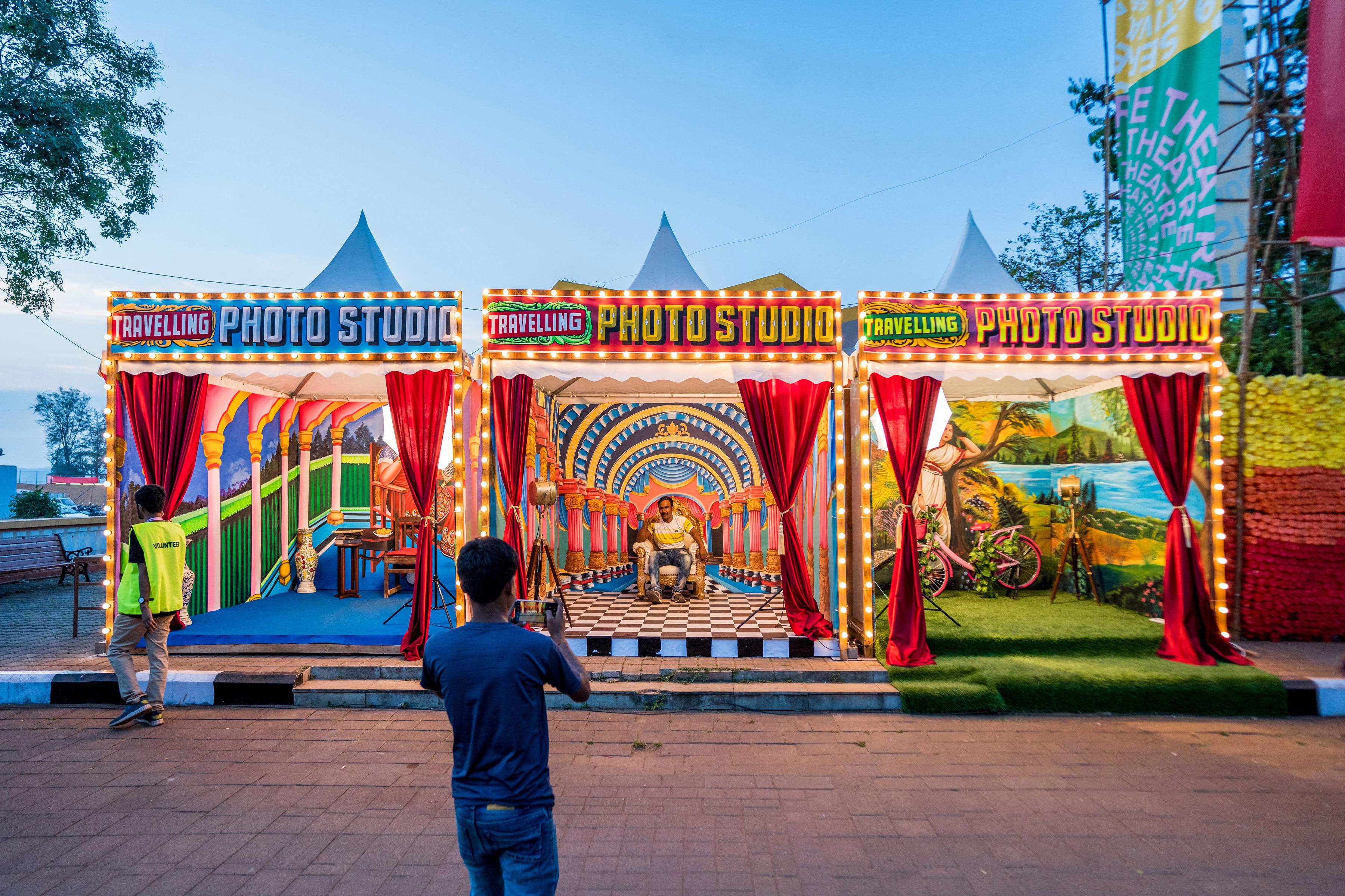 Photobooth by Hanif Reveals St Art Goa 2019 Pranav Gohil 11